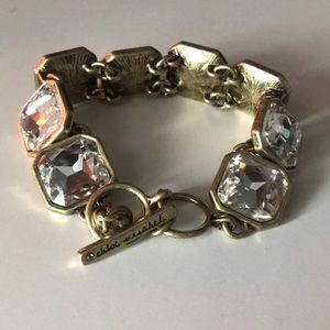 Bling square bracelet